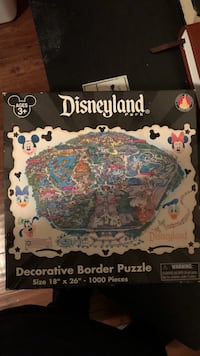 Disneyland puzzle 1000 pieces