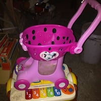 Lil minnie mouse shopping cart toy Puyallup, 98375