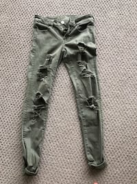 American eagle super stretch ripped jegging jeans Toronto, M6S 5B7