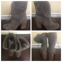 UGG boots (size 9) gray suede Occoquan, 22125