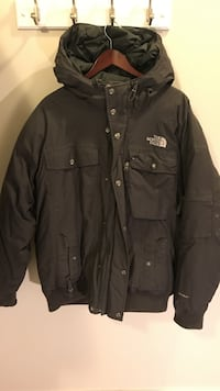 Men's north face down parka