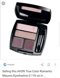 Eyeshadow Quad.  New.  Romantic Mauves Edmonton, T6M 2G7