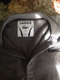 Lacoste size 4 men's golf polo top