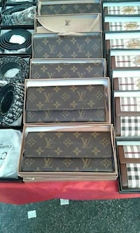 borsa a tracolla in pelle marrone Louis Vuitton Monogram marrone con scatole
