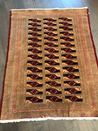 Hand made Persian rug size 5X3.11