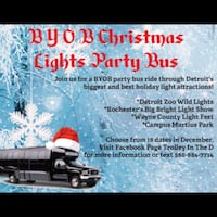Christmas Party Bus Shelby, 48316