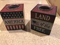 Patriotic candle holders  Arlington, 22209