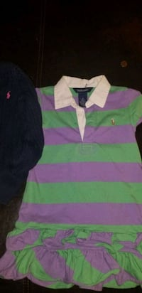 Little Girls Polo Dresses and Sweater