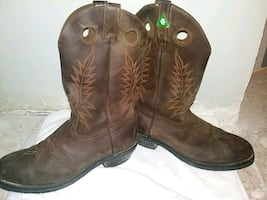 Cowboy boots CSA steel toed Boots