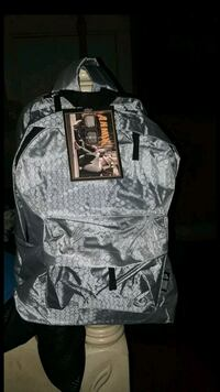 gray and black camouflage backpack Los Angeles, 90037