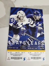 Leaf tickets Vaughan