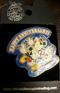 Disney Collectable Pin New York, 10065