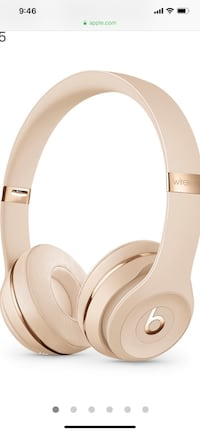 Beats Solo 3 Satin Gold Headphones with Box Toronto, M3C 4C4