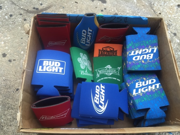 used bud light gear all brand new for sale in sanford letgo