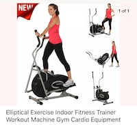 Elliptical Exercise Indoor Fitness Trainer  Clinton, 20735