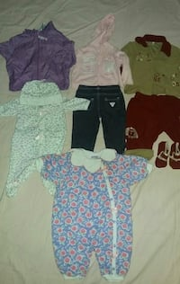 Baby girl lot size 3months 35 pieces or more