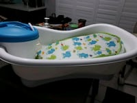 Baby bath tub with shower head  553 km