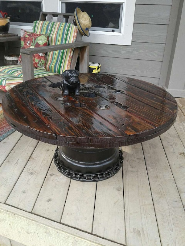 Handmade Hot Rod Coffee Table