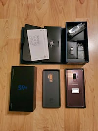 *New Price* Samsung S9+ with Original Box, Charger and Case