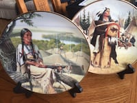 Indigenous Collector's Plates & Stands (Ltd. Edition) Toronto, M4V