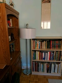 Floor lamp with pedal on/off switch Caledon, L7E 2K8