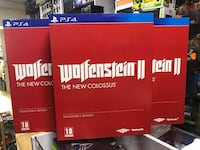 PS4 Wolfenstein 2 Collectors Edition Ataşehir, 34750