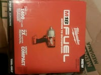 red and black Milwaukee M18 Fuel box Cleveland, 44109