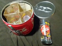 Coca Cola glasses in tin with lid Des Moines, 50315
