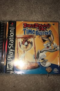 Old-school Bugs Bunny Taz and Time Busters PlayStation Game Surrey, V4N 5R4