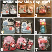 New Skip Hop backpack, lunch bag, bottle and more 3747 km