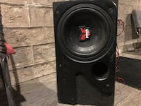 Bullet Sub Woofer and Pioneer Amp Cambridge, N3C 1E6