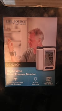 Digital  Wrist Blood Pressure Monitor Burnaby, V5A 4G5