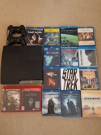 PS3 with blurays bundle