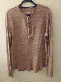 Men's Express Shirt waffle long sleeve shirt Boynton Beach, 33437