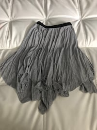 Layered grey skirt size small in women Pembroke Pines