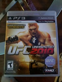 UFC 2010 for the PS3 Burke, 22015