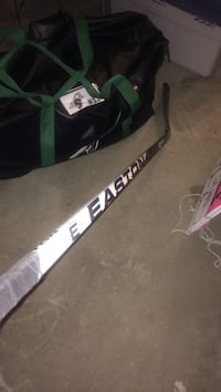 white and black Easton ice hockey stick 3184 km