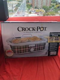Brand new in the box crock pot slow cooker Toronto, M1G 0A7