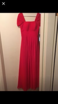 Red dress size 6  Coquitlam