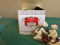 Coca cola pola bear cans collection with box Calgary, T2X 0Y3