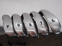 Top Flite XL Golf Clubs - 6,7,8,9 & Pitch Wedge and Nike Precision Golf Balls Acton