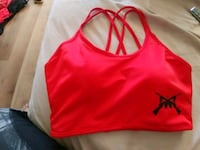 women's pink and black Nike sports bra Kelowna, V1X 5L5