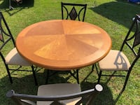 Round dining table with chairs Century, 32535
