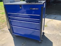 blue and gray Snap-on tool chest Lancaster, 29720