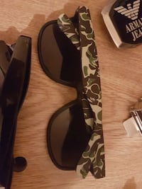 black green and white camouflage wayfarer sunglasses Kelowna, V1Y 1A7