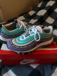 'Have a Nike Day' AirMax 97 (size 9.5) Calgary, T3J