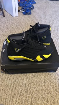 jordan 14 thunder size 8 wore 1 Lake Worth, 33461