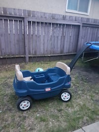 blue and black Little Tikes cozy coupe EDMONTON