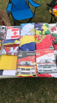 World Cup Car Hood Flags Kitchener