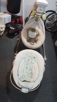 Baby bouncer and electric swing  with Music!!
